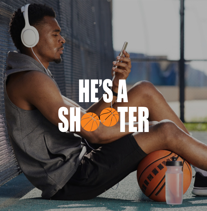 He's A Shooter